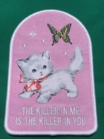 "Toughtimes""KITTEN IN ME PATCH"""