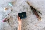 ダコタ_エメラルドグリーン◆外装◆こども財布◆三つ折り