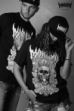 Death Marrion Tee (Black×White,Red,Blue)