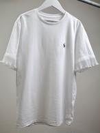 Remake Ralph Lauren Frill T-shirt ホワイト メンズS