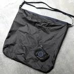 FAIRWEATHER  packable sacoche(ブラック)フェアウェザー パッカブルサコッシュ