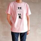 くりねこTシャツ ベビーピンク