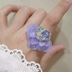 【リング.4-26】phantomFLOWER crystal