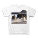 飛び猫Tシャツ5【送料無料】