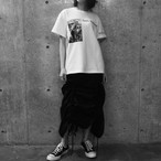 【WOMENS】プリントT  PRINTED TEE / White