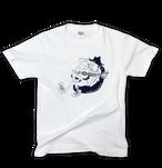 uncle 'B' T-shirt -Navy-