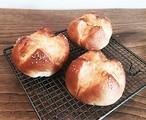 国産小麦 塩バターパン3個セット