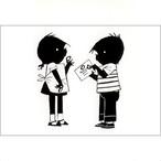 ポストカード 切手を貼って(FO_PO_10109)