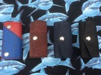 希少・手縫いサメ革キーケース・経年変化がさらに楽しみ