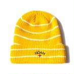Core Logo Stripe Beanie(Yellow)