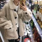 【outer】防寒コートPOLOネック暖かいレディースコート