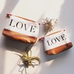 KENNETH COLE REACTION LOVE/UNIQUE COSMETIC POUCH Msize |インスタでも話題の海外セレブ系レディースファッション Carpe Diem