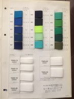 YKK グログランテープ 22㎜幅 カラー全色 10m巻