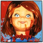 Chucky チャッキー (2) / チャイルドプレイ「ポップアートパネル Keetatat Sitthiket」アートフレーム アートボード グラフィックアート ウォールアート 絵画 壁立て 壁掛けインテリア 額 ポスター プレゼント ギフト インスタ映え ホラー映画 キータタットシティケット