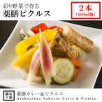彩り野菜で作る薬膳ピクルス(400ml瓶2本)