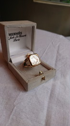 HERMES Ring Gold