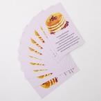 ふんわりパンケーキメッセージカード
