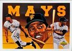 MLBカード 93UPPERDECK Willie Mays BASEBALL HEROES CHECKLIST