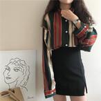 【新作10%off】retro sick feminine shirts 3180