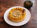 (12cm)えびすかぼちゃのビーガンローケーキ※卵・バター・乳・小麦・白砂糖不使用 ハロウィン