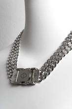 2CHAIN BUCKLE NECKLACE