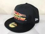 NEW ERA 59FIFTY BACK TO THE FUTURE CAP (BLACK)