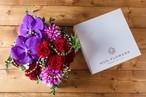 【プレゼントにぴったり】アレンジメント-BOX(箱色ホワイト)-