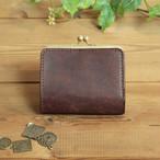 【新作】小さい がま口財布 / チョコレート