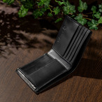 BS-9051 イタリアンレザー 二つ折り財布