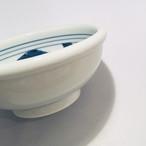 【砥部焼/梅山窯】5寸玉縁鉢(一つ唐草)