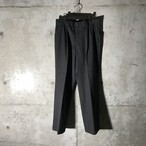 [used] striped grey slacks