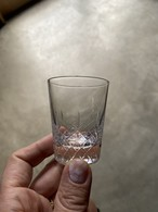 h collection CRYSTAL SHOT GLASS/LACE