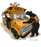 9/30迄トートバッグ付き アメリカンスクールバス No.2021-aki-sweat-002 T/C ビッグシルエット クルーネック スウェット10.0オンス(裏起毛) :