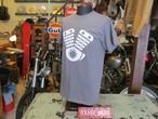 TRASH DEPT オリジナル ENGING Tシャツ / CHACOAL GREY