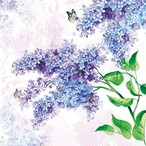 【Ambiente】バラ売り2枚 ランチサイズ ペーパーナプキン LILAC ライラック