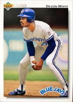 MLBカード 92UPPERDECK Devon White #352 BLUEJAYS