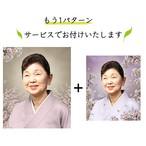 遺影加工 女性 ソメイヨシノ うるわしい桜 D-001