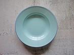 フレンチブルーの琺瑯皿