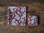 156ri049 Block Print Handkerchief L