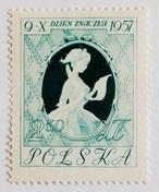 手紙を読む少女 / ポーランド 1957