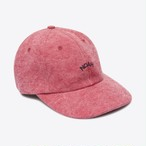 Recycled Canvas Core Logo 6-Panel(Dark Red)