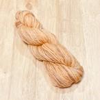 Poko46c)オレンジ系の段染めシュロプシャー・並太毛糸
