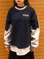 PULSEレイヤードMTM ★UNISEX MTM トレーナー 韓国ファッション
