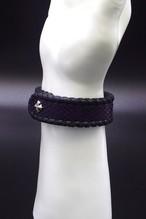 Item No.0303: Bracelet/Diamond Python《Hand-dyed Blue》