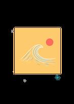 [ily drawing]Sunset Wave