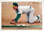 MLBカード 93UPPERDECK Ron Darling #168 ATHLETICS