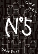 STARDESIGN 作品名:PARFUM NO.5  A4ポスターフレームセット【商品コード: tn05】