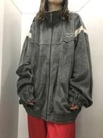 90's PERRY ELLIS ベロアトラックジャケット