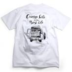 CAMPS キャンプTシャツ【Camp Life is the Best Life】ランドクルーザー70