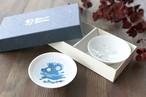 『冷感雪結晶 白平盃ペアセット』雪結晶 平盃ペアセット 贈り物 温度 変化 不思議な マジック 日本酒 乾杯 グラス シャンパングラス タンブラー フリーグラス
